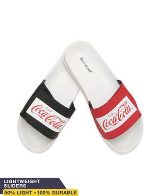 Shop Contrast Coca-Cola Lightweight Adjustable Strap Men Slider-Front