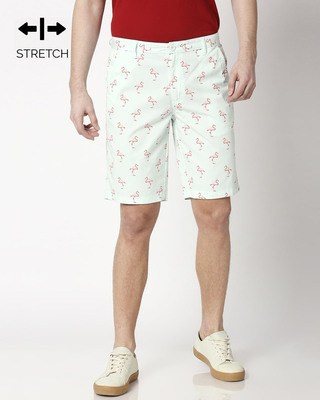 Shop Cool Flamingo Men's Shorts-Front