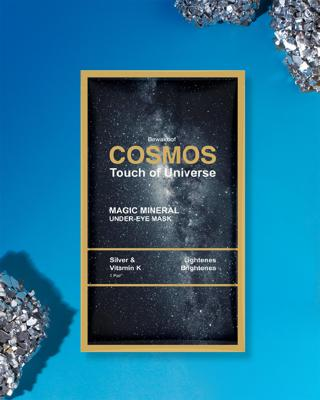 Shop COSMOS Magic Mineral Under Eye Mask by Bewakoof with Silver & Vitamin K-Front