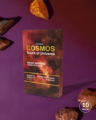 Shop Cosmos Touch of Universe Magic Mineral Under Eye Mask - Copper & Vitamin-C((Pack of 10)-Front