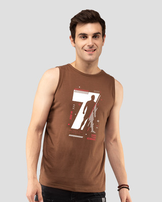 Shop Cr 200m Vest Brown-Front