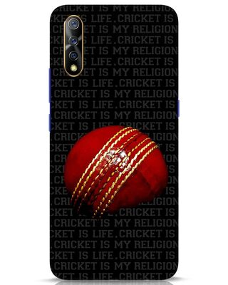 Shop Cricket Is Life & Religion Vivo S1 Mobile Cover-Front