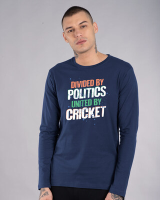 Shop Cricket Unity Full Sleeve T-Shirt-Front