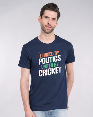 Shop Cricket Unity Half Sleeve T-Shirt-Front