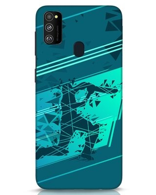 Shop Cricketer Abstract Samsung Galaxy M30s Mobile Cover-Front