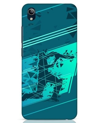 Shop Cricketer Abstract Vivo Y91i Mobile Cover-Front