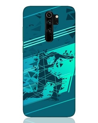 Shop Cricketer Abstract Xiaomi Redmi Note 8 Pro Mobile Cover-Front