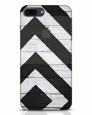 Shop Cross Road iPhone 7 Plus Logo Cut Mobile Cover-Front