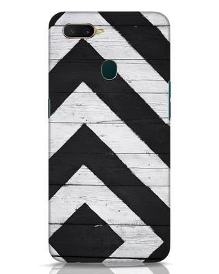 Shop Cross Road Oppo A7 Mobile Cover-Front