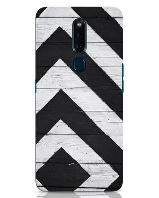 Shop Cross Road Oppo F11 Pro Mobile Cover-Front