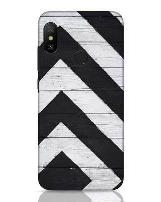 Shop Cross Road Xiaomi Redmi 6 Pro Mobile Cover-Front