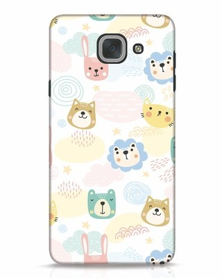 Shop Cute Animals Samsung Galaxy J7 Max Mobile Cover-Front