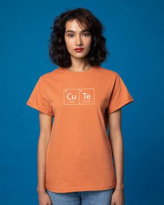 Shop Cuteness Boyfriend T-Shirt-Front