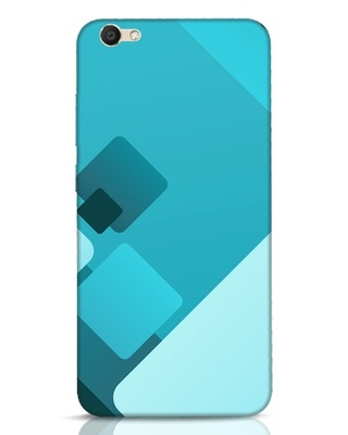 Shop Cyan Blocks Vivo V5 Mobile Cover-Front