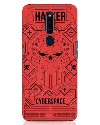 Shop Cyber Hack Oppo F11 Pro Mobile Cover-Front