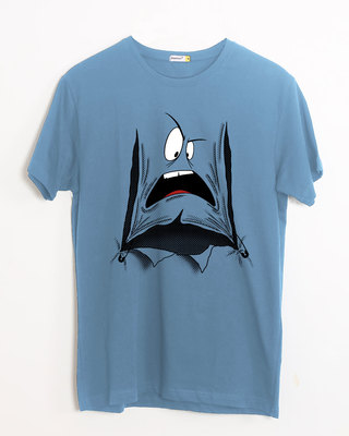 Shop Da Heck? Half Sleeve T-Shirt-Front