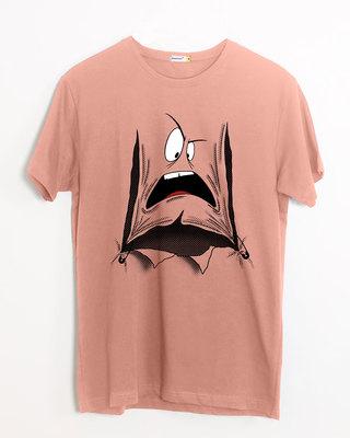 Shop Da Heck? Half Sleeve T-Shirt-Front