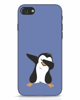 Shop Dab Penguin iPhone 8 Mobile Cover-Front