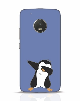 Shop Dab Penguin Moto G5 Plus Mobile Cover-Front