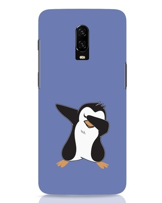 Shop Dab Penguin OnePlus 6T Mobile Cover-Front