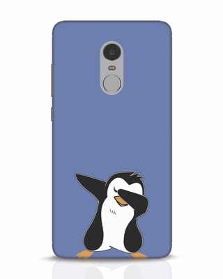 Shop Dab Penguin Xiaomi Redmi Note 4 Mobile Cover-Front