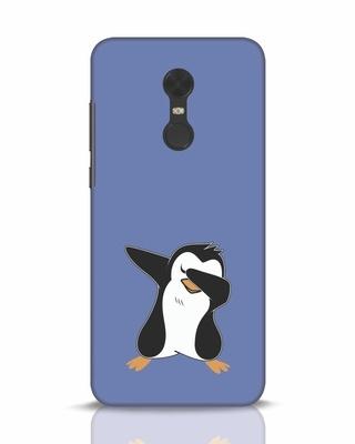 Shop Dab Penguin Xiaomi Redmi Note 5 Mobile Cover-Front
