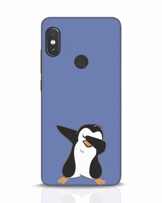 Shop Dab Penguin Xiaomi Redmi Note 5 Pro Mobile Cover-Front