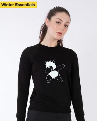 Shop Dabbing Panda Sweatshirt-Front