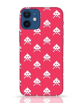 Shop Danger Pattern iPhone 12 Mini Mobile Cover-Front