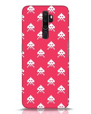 Shop Danger Pattern Oppo A5 2020 Mobile Cover-Front