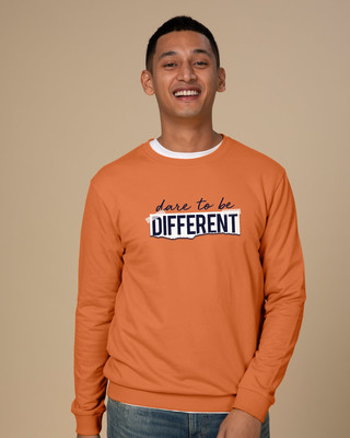Shop Dare To Be Different Sweatshirt-Front