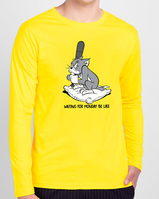 Shop Dare You Full Sleeve T-Shirt (TJL)-Front