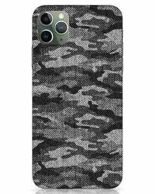 Shop Dark Camo iPhone 11 Pro Max Mobile Cover-Front