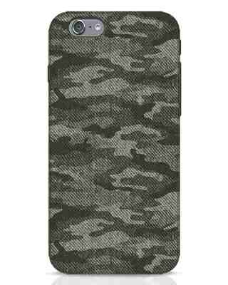 Shop Dark Camo iPhone 6s Mobile Cover-Front