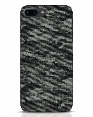 Shop Dark Camo iPhone 7 Plus Mobile Cover-Front