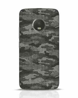 Shop Dark Camo Moto G5 Plus Mobile Cover-Front