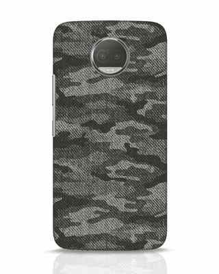 Shop Dark Camo Moto G5s Plus Mobile Cover-Front