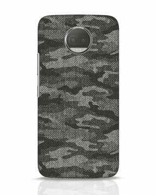 Shop Dark Camo Moto G5s Plus Mobile Cover-Front