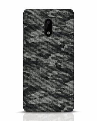Shop Dark Camo Nokia 6 Mobile Cover-Front