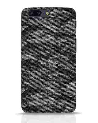 Shop Dark Camo OnePlus 5 Mobile Cover-Front
