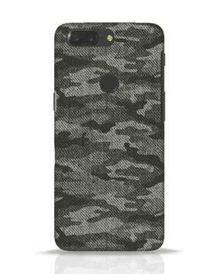 Shop Dark Camo OnePlus 5T Mobile Cover-Front