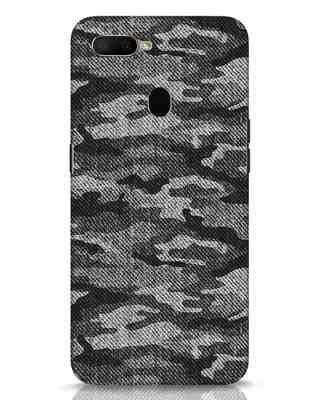 Shop Dark Camo Oppo A5s Mobile Cover-Front
