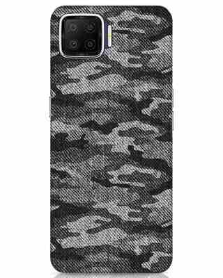 Shop Dark Camo Oppo F17 Mobile Cover-Front