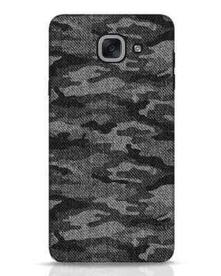 Shop Dark Camo Samsung Galaxy J7 Max Mobile Cover-Front