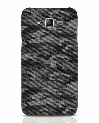 Shop Dark Camo Samsung Galaxy J7 Mobile Cover-Front