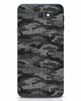Shop Dark Camo Samsung Galaxy J7 Prime Mobile Cover-Front