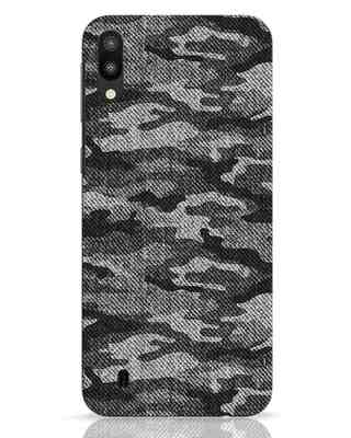 Shop Dark Camo Samsung Galaxy M10 Mobile Cover-Front