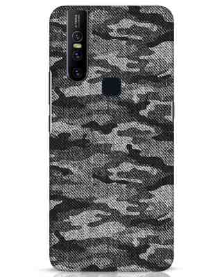 Shop Dark Camo Vivo V15 Mobile Cover-Front