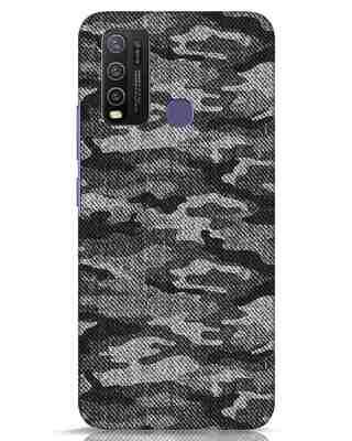 Shop Dark Camo Vivo Y50 Mobile Cover-Front