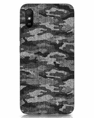 Shop Dark Camo Xiaomi Redmi 9A Mobile Cover-Front